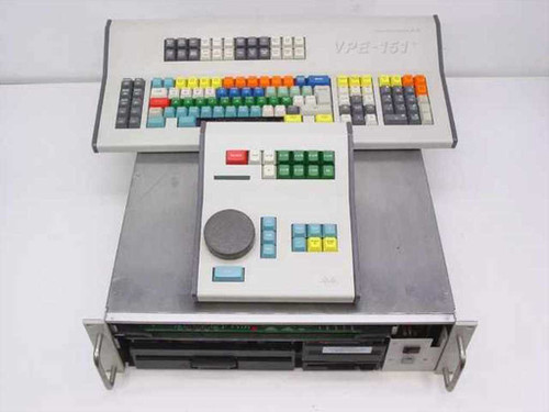 Grass Valley Group VPE-151 Video Production Editor Controller & Keyboard AS-IS