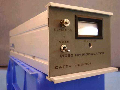 Catel VFMM-2000 Video FM Modulator 219MHz with BNC and COAX Input/Output Ports