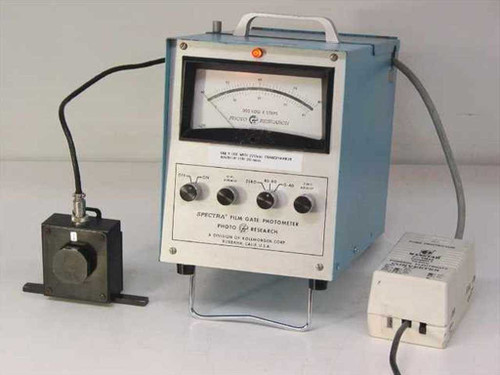 Photo Research Spectra 900-OP-C FilmGate Photometer / Light Meter - AS IS