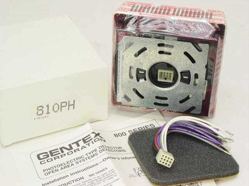 Gentex 810PH Photoelectric Smoke Detector - 110 VAC - New Old Stock with Box