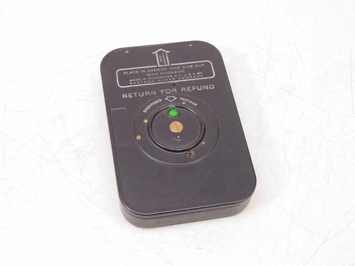 Kodak 7206 Plus-X Negative R.P. Film 16mm Magazine - Empty - As Is / Collectible