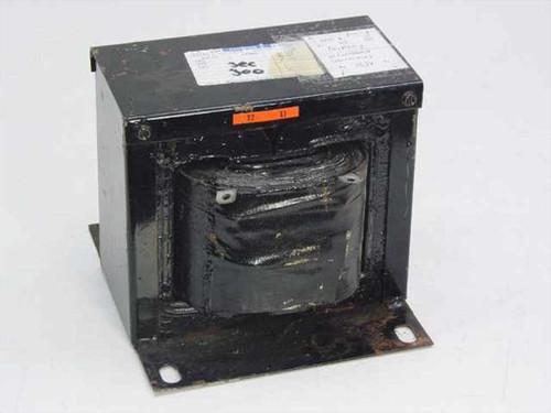 Westinghouse 1F2881 1.5 KVA Full Transformer Pri: 208-240 Sec: 120 Volts