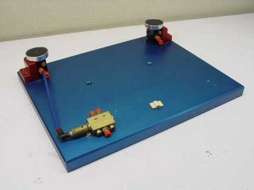 """Air Safety Safety Switch  Dual hand with mounting Plate 18""""x14""""x4"""""""
