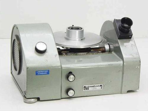 Ruska Model 2460 Gas Lubricated Piston Pressure Gauge Gage~Russian - As Is