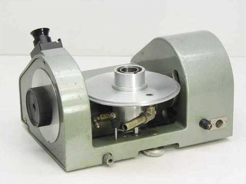 Ruska Model 2460 Gas Lubricated Piston Pressure Gauge (Gage~Russian) - As Is