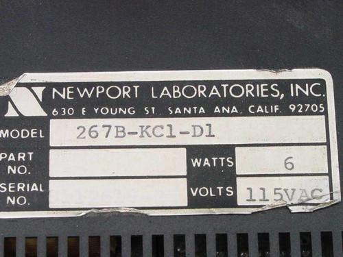 Newport 3 Rack Mounted Celsius Temperature Meters 267B-KC1-D1