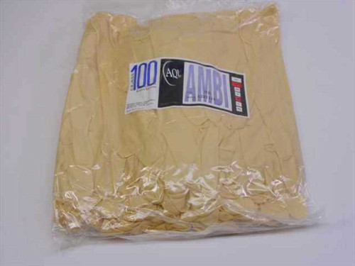 AQL Class 100 SMALL Latex Gloves for Cleanroom - New Old Stock - Pack of 100