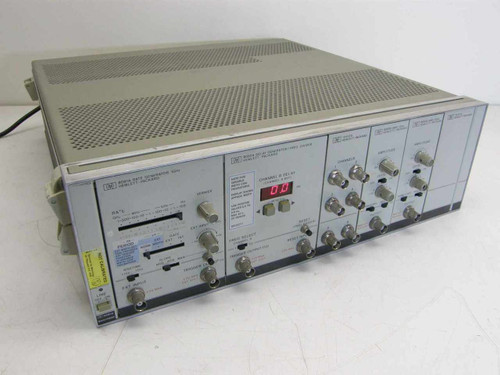 HP 8080A Main Frame with 8091A, 8092A, 15402A, 8093A x2 , 15401A Plug Ins
