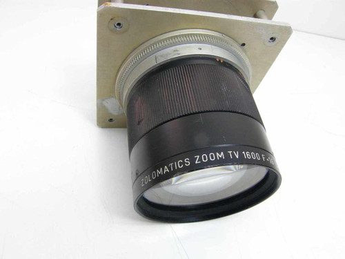 Zolomatics Zoom TV Lens F=16 -160mm f/2.5 1600