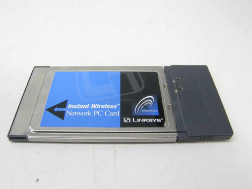 Linksys WPC11 PCMCIA Instant Wireless-B Network Laptop Card - No Dongle