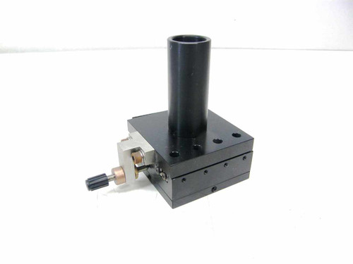 Linear Stage Optical Mount Removable Threaded Optical Tube.14.7mm Travel~5/8 in.