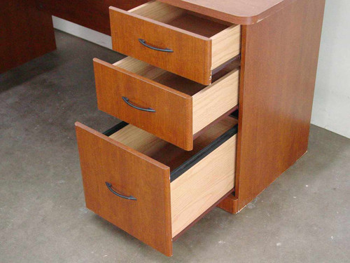 Sauder Woodworking Computer Desk w/return (3 Drawer)