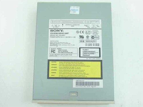 "Sony CDU4811 48x IDE Internal CD-ROM 5.25"" Drive with Sound Jack"