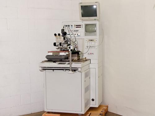 F&K Delvotek 6320 Automatic Gold/AI Wire Bonder CCD Video Nikon SMZ-1B Unitron