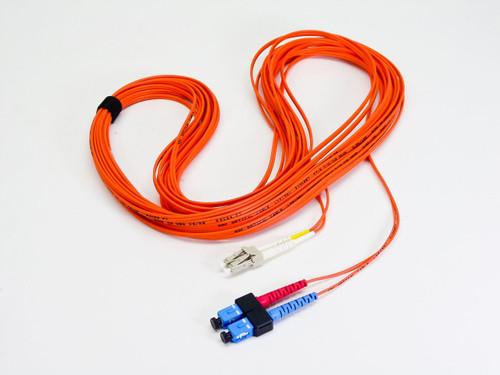ADC E120857 50-Ft LCF Optical Cable 2-50/125 - Orange