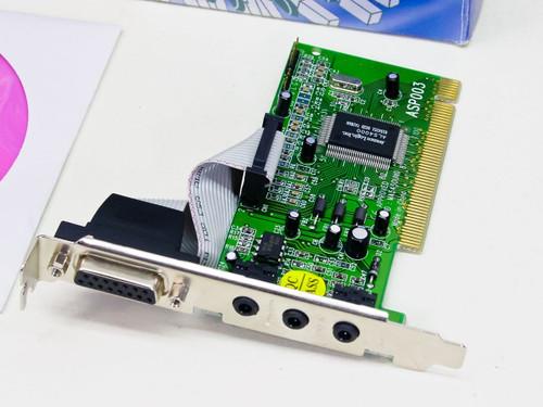 Genica ASP003 PCI Sound Card w/ Drivers - DOS, Win 3.1, 95 & 98 - ASOUND Express