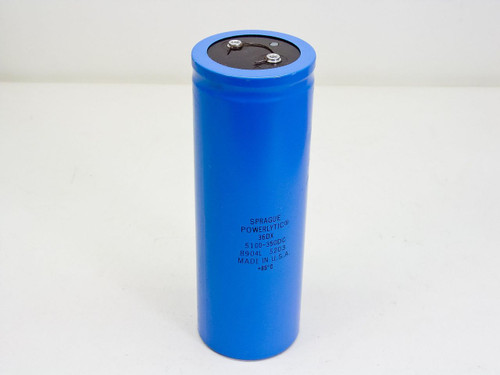 Sprague Powerlytic 36DX Capacitor 5100-350DC - Made in USA