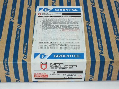 Graphtec Linearcorder Graph Chart Paper 8x40mm 200m PZ474-8B