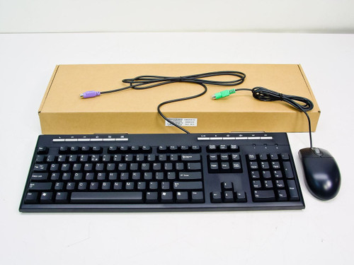 BTC 5309 Black PS/2 Multimedia Keyboard with M370 Mouse