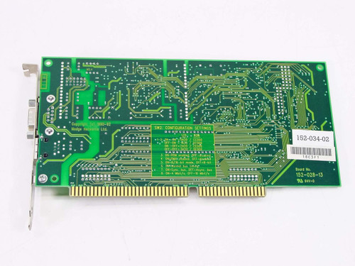 Madge Smart 16/4 AT Ringnode Network Card 152-034-02