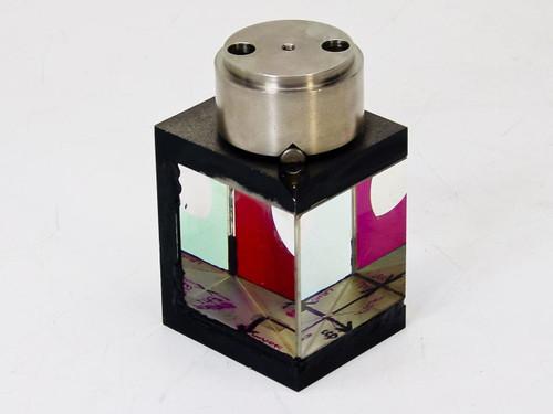 Optical 56mm Beam Splitter / Double Prism - Mask Aligner - AS IS