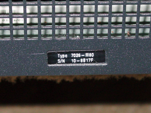 IBM 7026-M80 RS/6000 Enterprise Server M80
