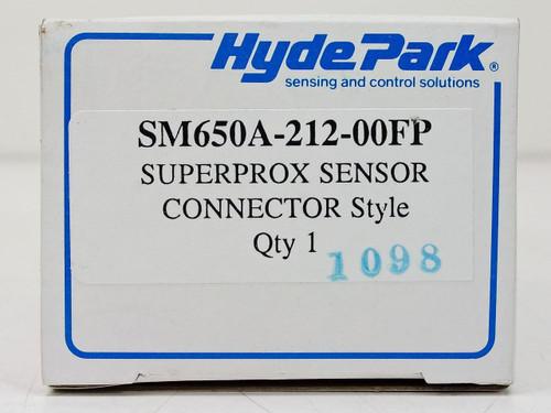 Hyde Park Superprox Flat Profile 12-24 VDC Proximity Sensor (SM650A-212-00FP)