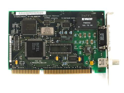 Intel 305896-004 16-Bit ISA EtherExpress 16 8/16 Lan Adapter Card with COAX