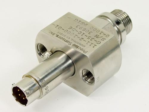 Precise Sensors  0-1000 PSIG Transducer  111-2-1000-01-G-35-10-B6