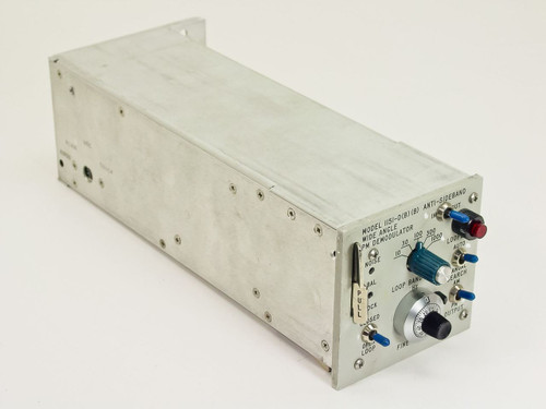 Microdyne 1151-D B Wide Angle PM Demodulator for RF Satcom Earth Station Systems