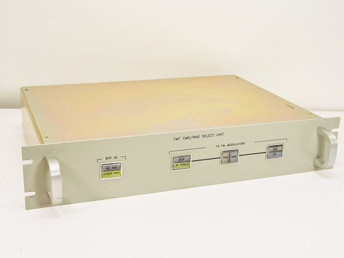 FMT BNC Video Select Switcher Unit (CMD/RNG)