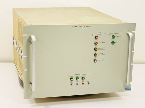 Hughes / SSEL Command Generator VME Rack Loaded 7746604-100 7729349-100 7746600-
