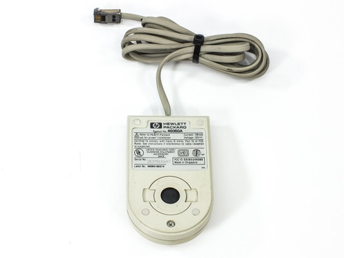 HP 46060A 2-Button HIL Bus Mouse 1984 Vintage Collectible - Assorted Revs c.1984