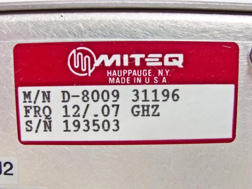 Miteq  Downconverter  D-8009