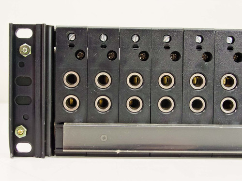 "ADC VC-1 20-Port 1/4"" TRS Double Jack Audio / Video Modular Patchbay 19"" Rack"