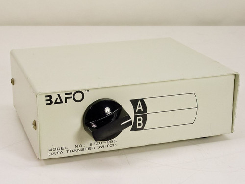 BAFO 25 Pin / 2 Way Data Transfer Switch (8720-25S)