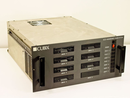 """Cubix LCS Resource SubSystem 19"""" Rackmount with DigiBoard 30000644 + SMC 8013EWC"""