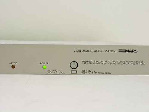 Broadcast Television Systems Digital Audio Switch BES-300 24x8