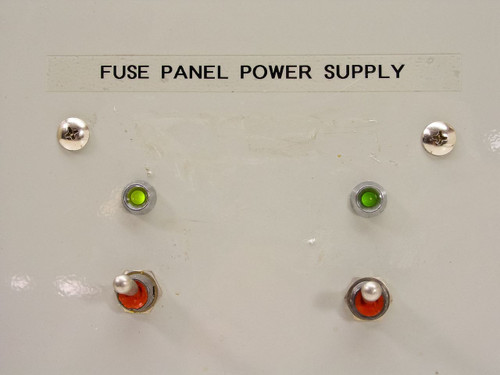 Power One 12253 Fuse Panel Power Supply w/ Mallory 13000 MFD 50 VDC Capacitors