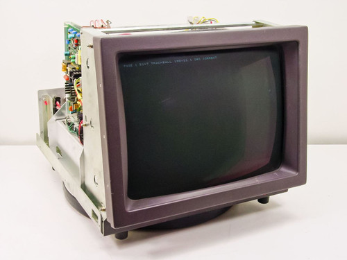 """Aydin Controls 5219 19"""" Rackmount CRT Terminal/Monitor Dual 115/220 Voltage AS IS"""