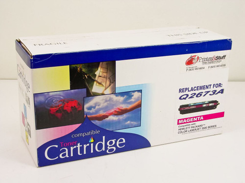 Generic  Compatible Toner Cartridge- Magenta  Q2673A