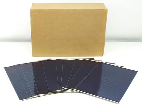 Uni-Solar Finished L-Strip Amorphous Solar Cells 7.5W 1.6V - Box of 100 Total