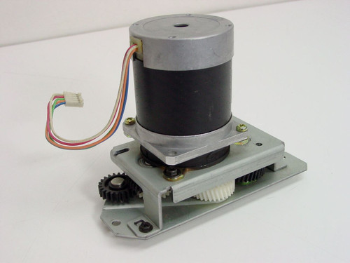 Shinano Kenshi Stepper Motor with Gear Assembly 127K94840