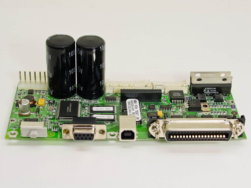 Zebra 402420-001 Printer Motherboard Module w/ Head and Stepper Motor Connectors