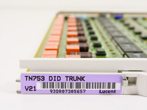 Lucent Technologies / Avaya DID Trunk TN753 V21