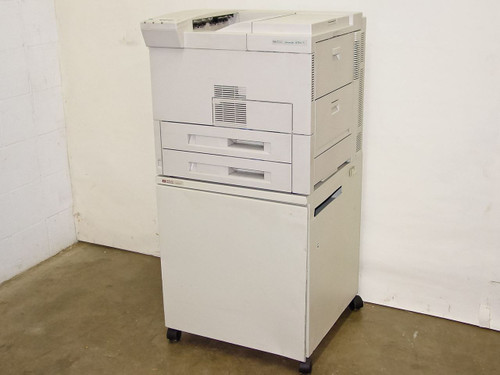 HP Laser Jet 8100N Network Laser Printer w/ Cabinet  C4215A AS-IS for parts