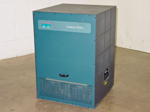 Cisco 5500 Catalyst Chassis Loaded w/ Cards 13-Slots - WS-X5530 WS-U5534 WS5225R
