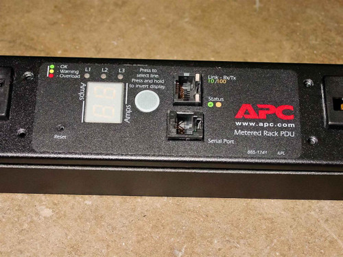 APC AP7862 42 Outlet Metered Rackmount PDU
