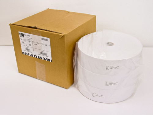 "Zebra Receipt Printer Label - 3 rolls 2-23/64"" Wide Model: 66018RM 10010660"