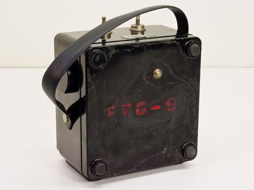 Weston 433 A.C. Amperes 25-500 Hz